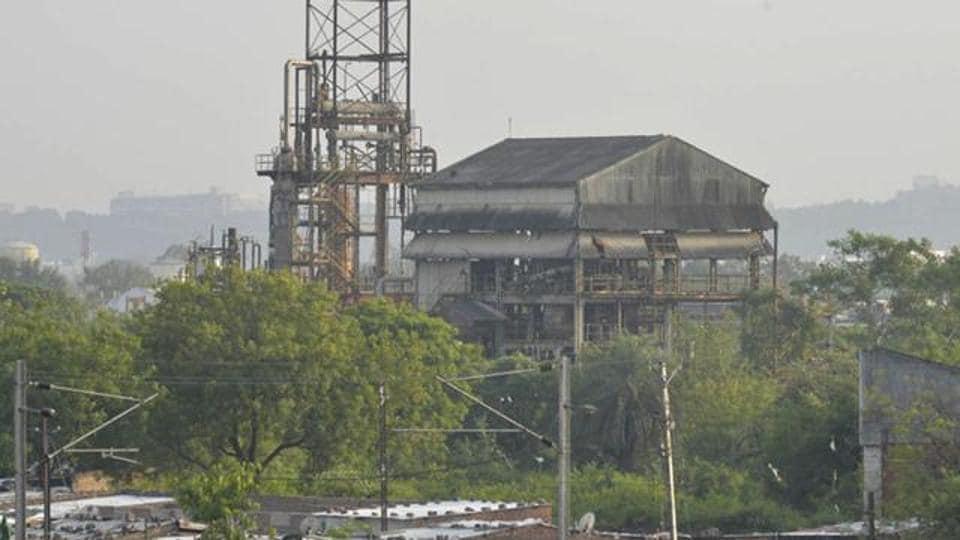 Union Carbide plant in Bhopal.