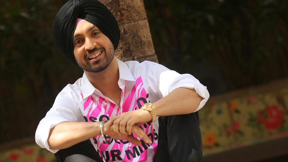 Actor-singer Diljit Dosanjh was in the Capital for the promotion of his film.