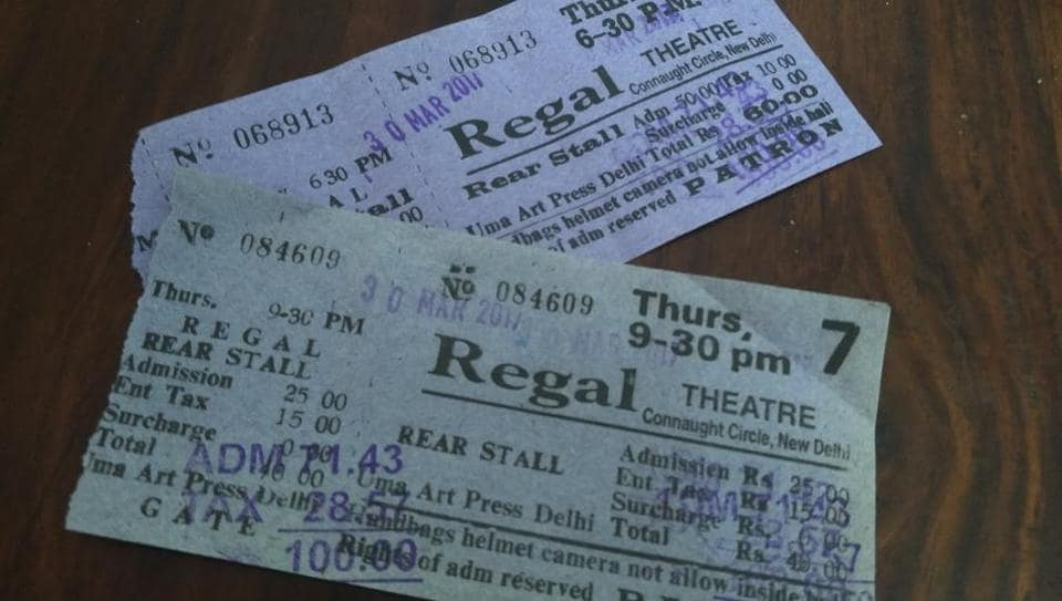The tickets for the final show at Regal Theatre on Thursday at 9pm.