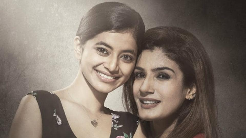 Maatr trailer shows Raveena's character fighting for justice after her daughter Tia is raped.