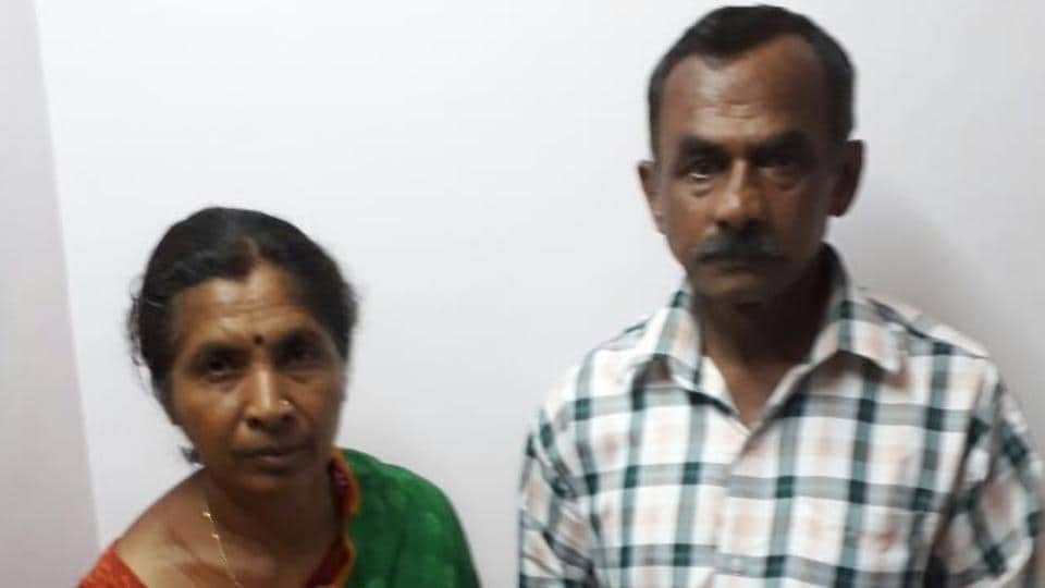 Parents (in pic) of  PK Yashwanth, who went missing from Mysore in 2007,  have moved  Karnataka high court seeking repatriation of  their son.