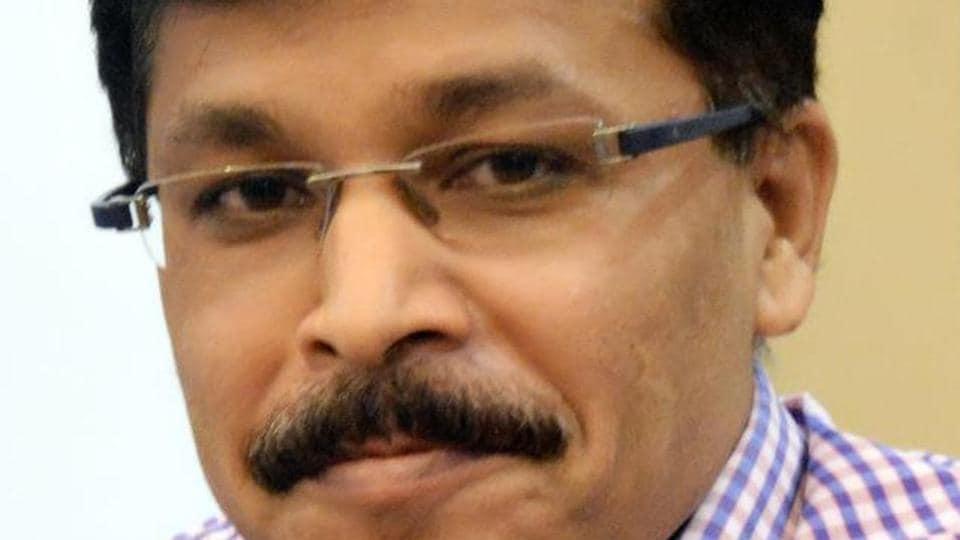 Former Navi Mumbai civic chief Tukaram Mundhe.