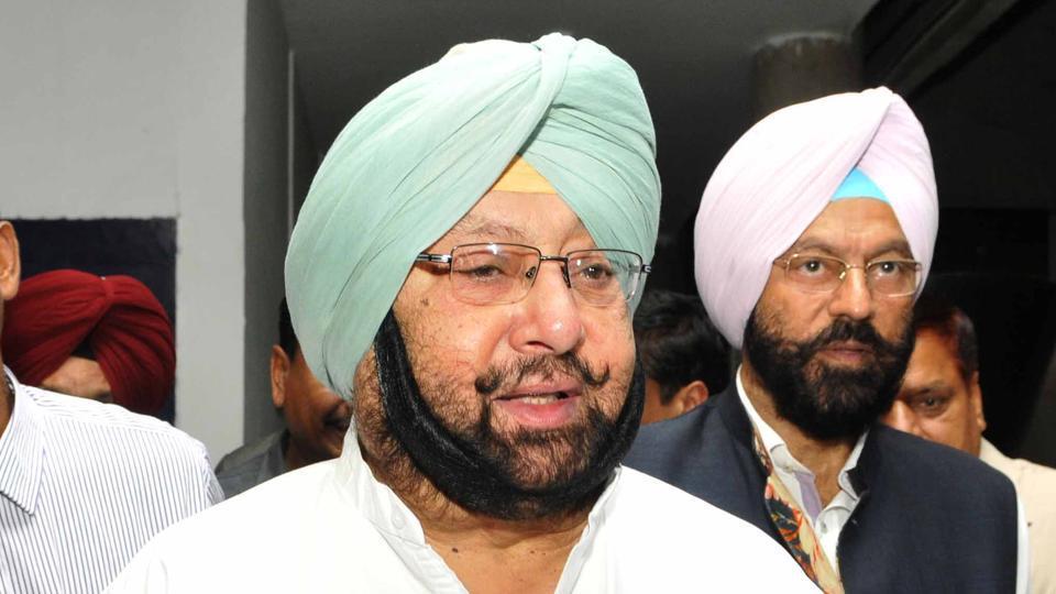 Punjab chief minister CaptainAmarinder Singh.