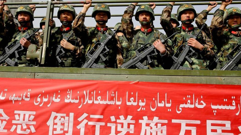 Hundreds of people have died in recent years in Xinjiang, home to the Muslim Uighur people, in unrest blamed by Beijing on Islamist militants and separatists.