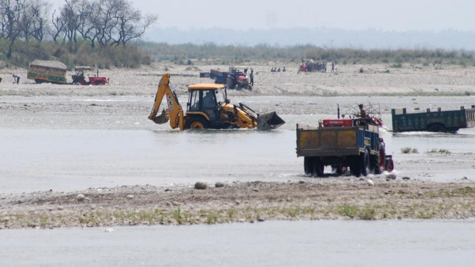 Following the Uttarakhand HC order, mining work has come to a halt in rivers such as Ganga, Yamuna, Gaula, Kosi, Dabka, and Kali and nearly 100 seasonal rivers and rivulets apart from forest areas.