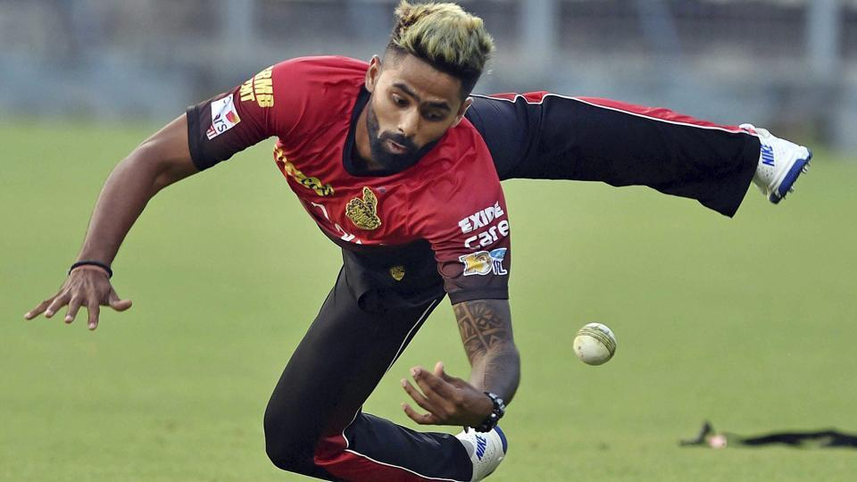 Suryakumar Yadav during a fielding practice session. He has been a consistent performer for KKR. (PTI)