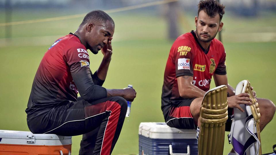 Darren Bravo and Sheldon Jackson would hope to make an impact for Kolkata Knight Riders. (PTI)