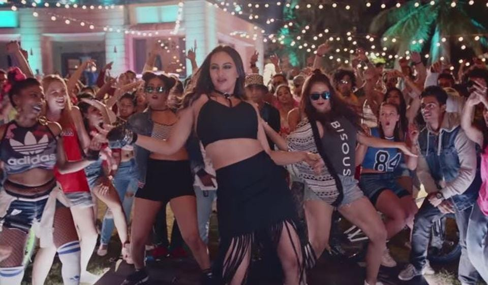 Sonakshi Sinha has also lent her voice to the Noor song, Move Your Lakk.