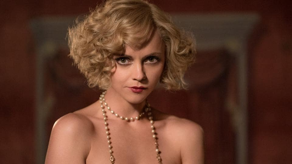 Christina Ricci as Zelda Fitzgerald in the web series, Z: The Beginning of Everything