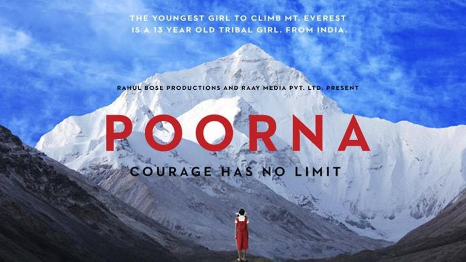 The film is based on a true story of Poorna Malavath, the youngest girl to climb Mount Everest.