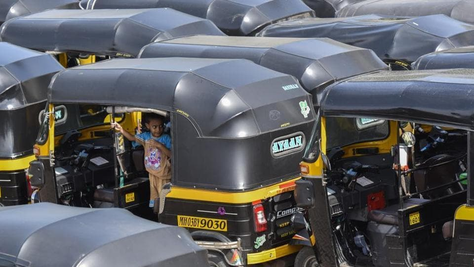 Auto-rickshaws kept off roads for a third day in a row because of unavailability of CNG.