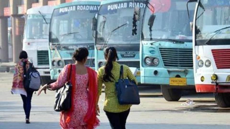 27-year-old woman,hree-month-old,Punjab Roadways bus