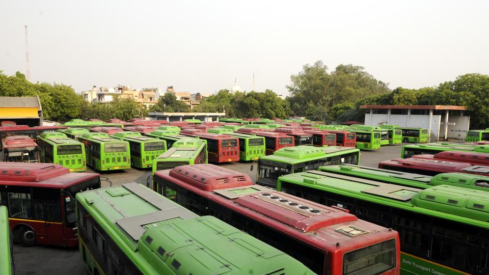 NGT has asked government why its order is not being implemented despite so many buses parked at the depot.