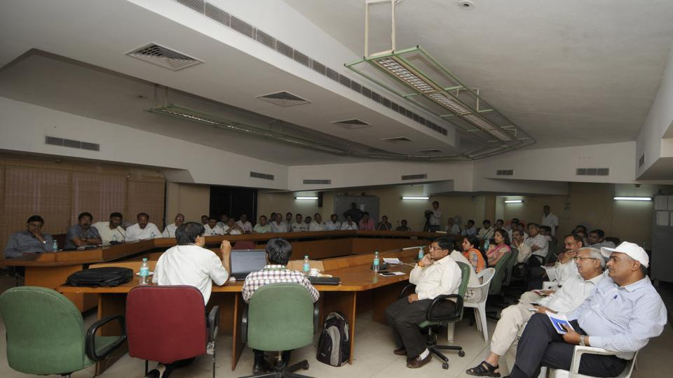 Over 200 officials of the Noida authority and Greater Noida authority on Friday underwent a training to make such purchases.