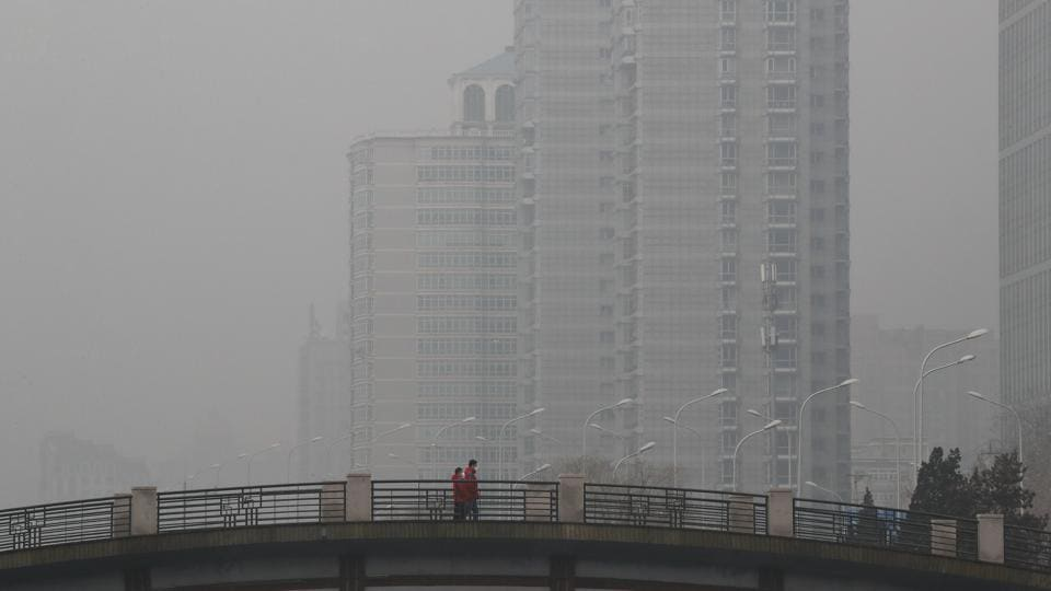 China pollution,China smog,Emission data