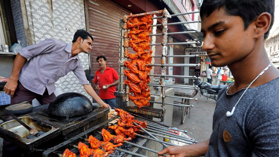 Given that majority of Hindus are non-vegetarian, how and why is the democratic State anxious of non-vegetarian diet, even eggs?