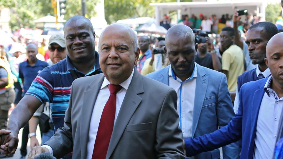 South Africa,finance minister Pravin Gordhan,African National Congress
