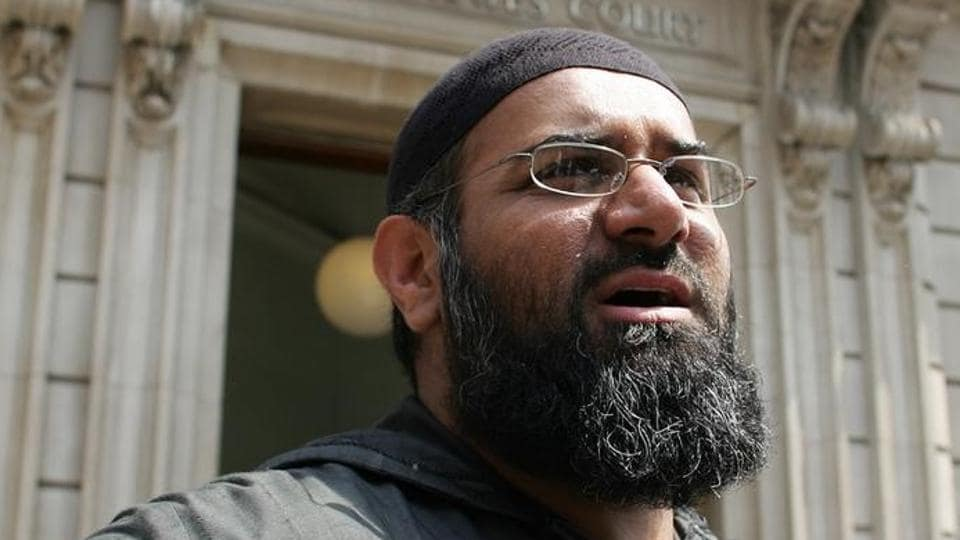 Anjem Choudary, the leader of the dissolved militant group al-Muhajiroun.
