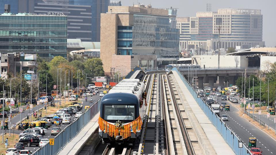 Rapid Metro,Gurgaon,Golf Course Road