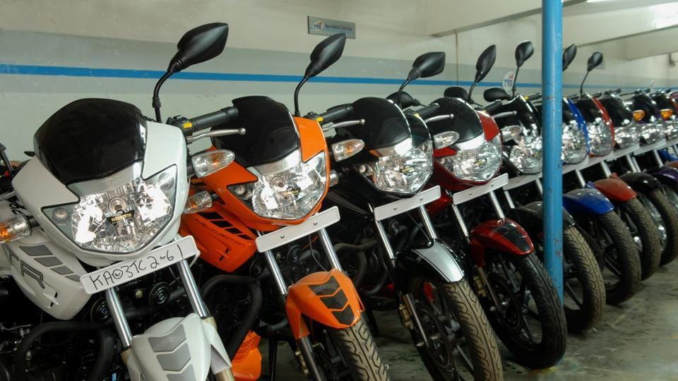 The inventory of two-wheelers stands at 7.5 lakh vehicles.