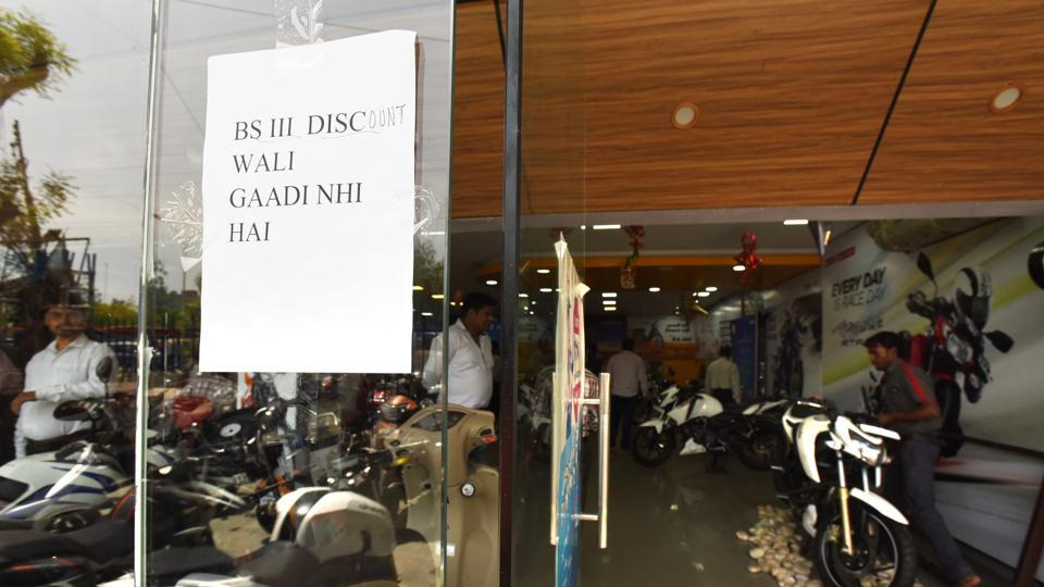 KK Gautam, senior assistant and registration in charge at RTO office, estimated that a total of 700 motorcycles have been sold in Noida on Friday.