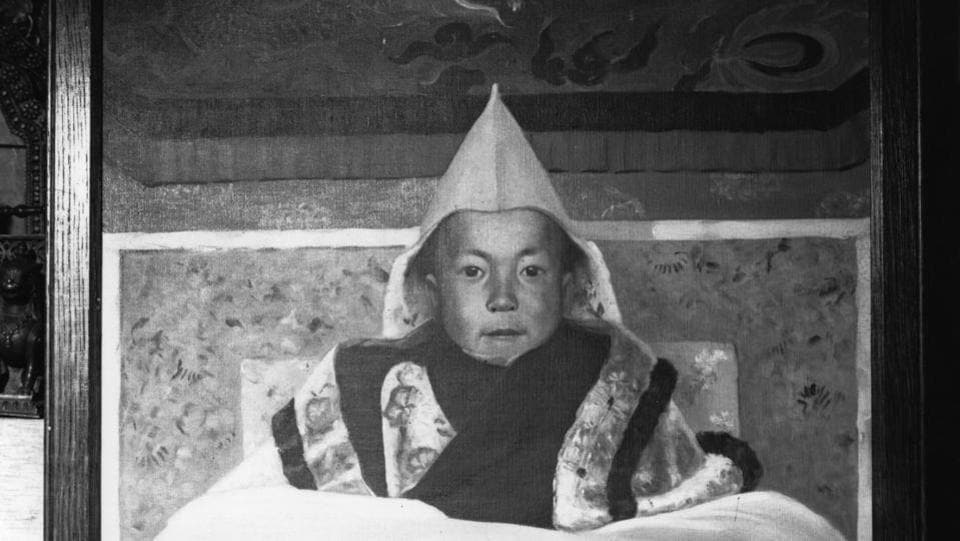 The 15 year old boy ruler of Tibet, Dalai Lama Tenzin Gyatso. (Getty Images)