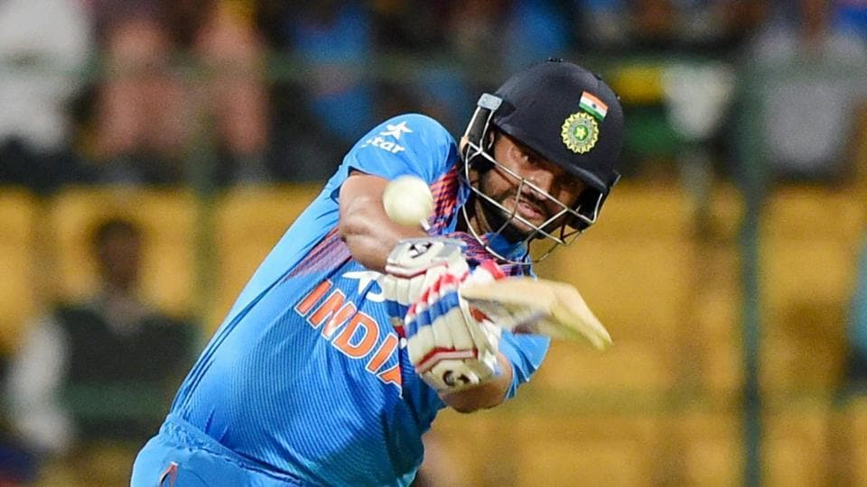 Suresh Raina's last appearance for India was during the Twenty20 Internationals against England in January-February 2017.
