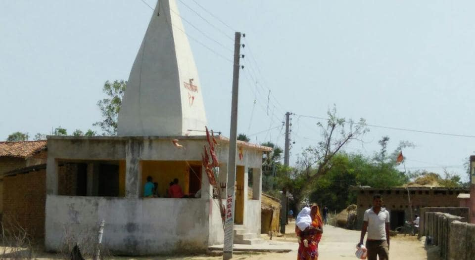 A temple funded from cash penalties realised for liquor ban violation, in Sherghati sub-division of Gaya in Bihar.