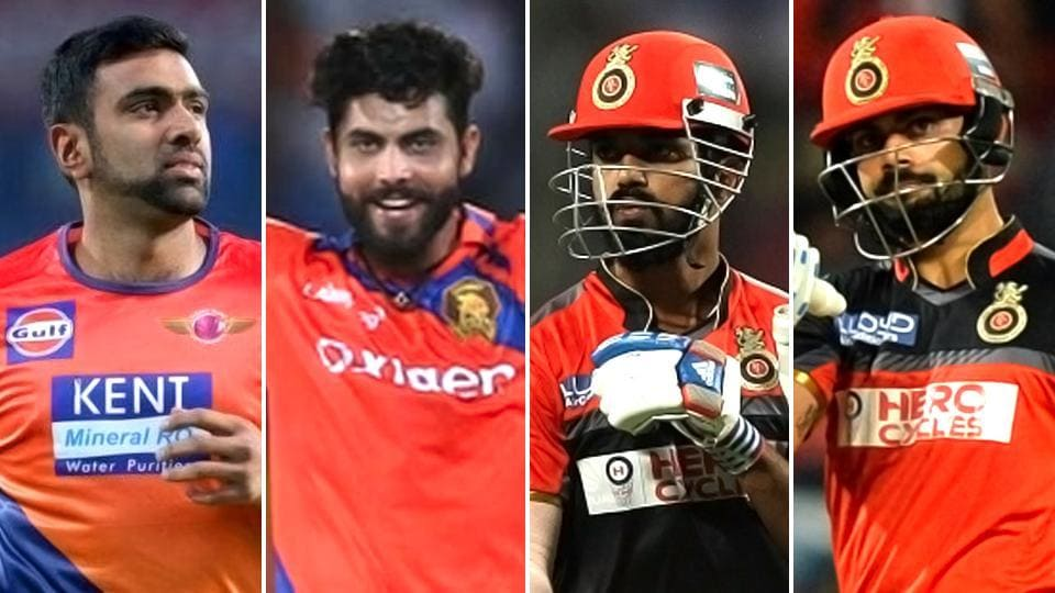 Ravichandran Ashwin, Murali Vijay and KL Rahul have all been ruled out of the 2017 IPL while Virat Kohli will have his fitness assessed in the middle of April.