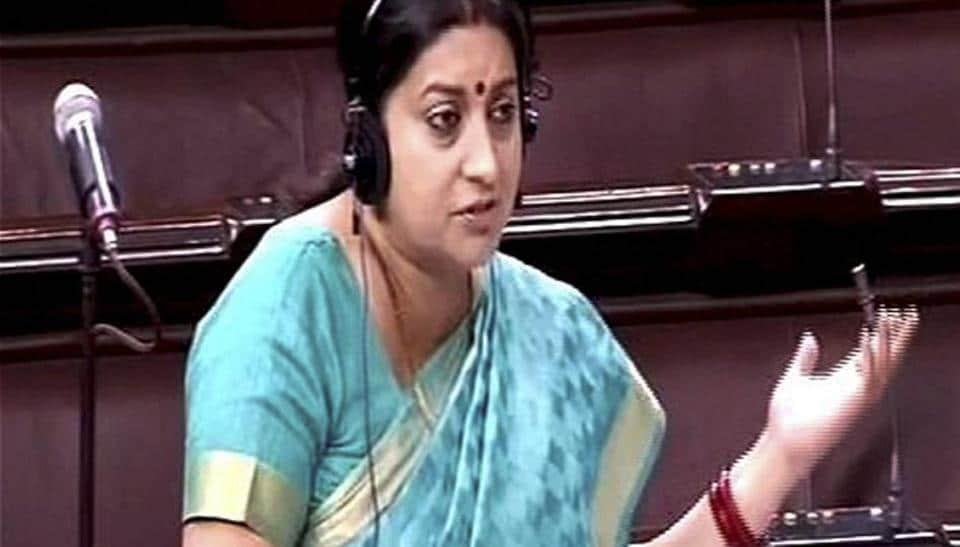 Four college students detained after Smriti Irani complained of being chased