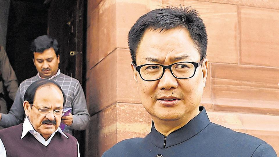 MoS for home Kiren Rijiju, who hails from Arunachal Pradesh, said peaceful atmosphere should be created to support outsiders who come to execute  various development projects.
