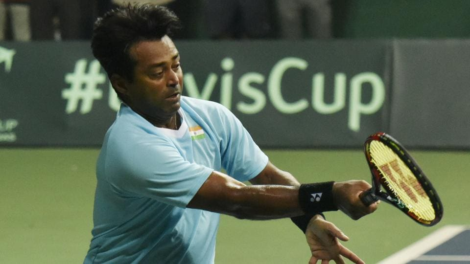 Leander Paes had last won an ATPtitle in Auckland in 2015.