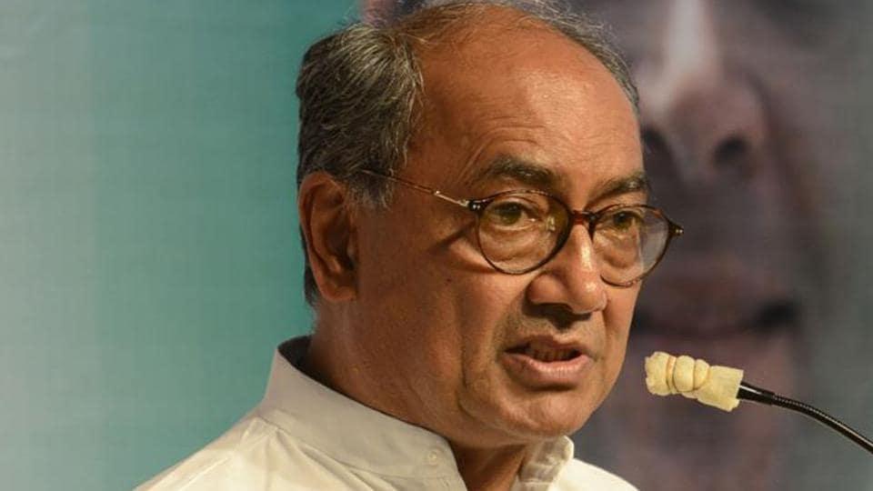 Digvijaya Singh,Goa CM,Manohar Parrikar
