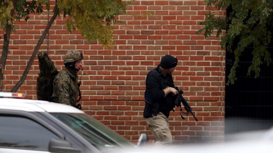 Police say the shooter, 21-year-old Tres Peterson, of Massillon, was in the Army Reserves.