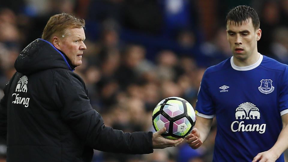 Everton manager Ronald Koeman has been upbeat before the Merseyside derby on Saturday.