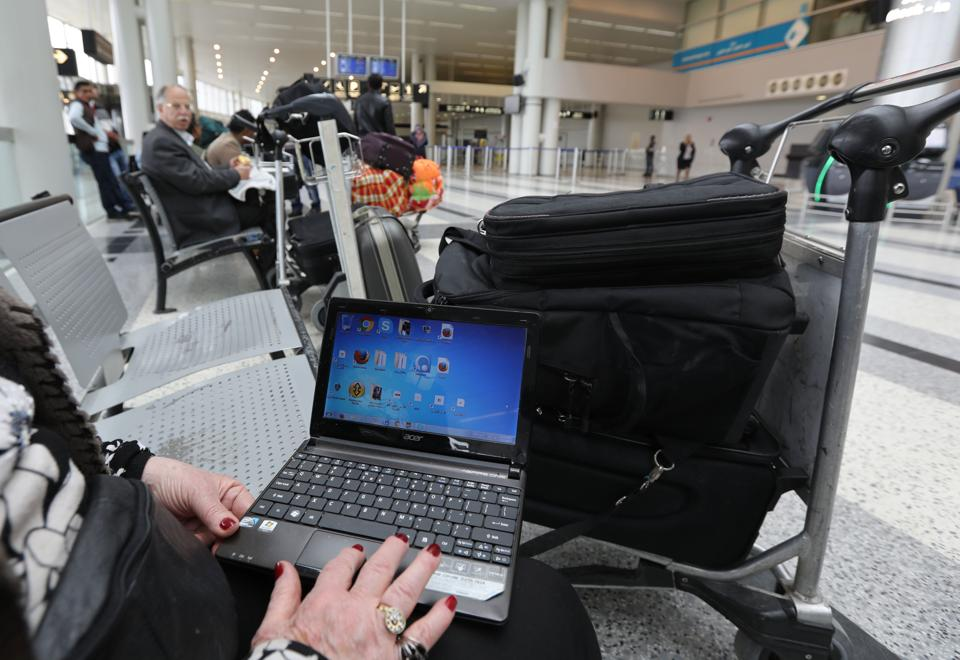 A report suggested bomb-makers are able to pack laptops with explosives and still get them to switch on.