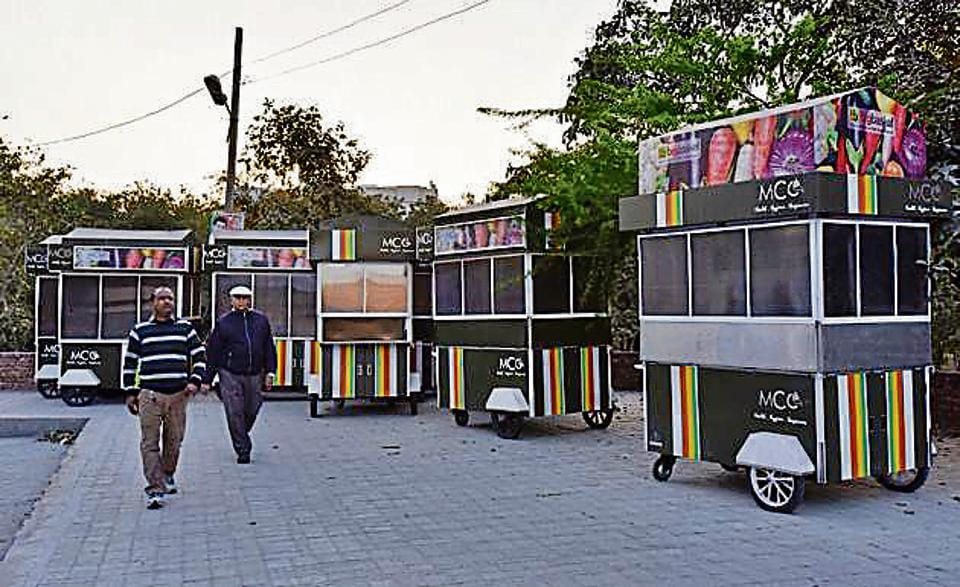 The MCG has designed colourful rehris or carts and has earmarked special zones across the city.