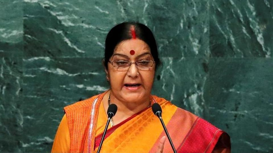 External affairs minister Sushma Swaraj tweeted that the student has survived the attack and it was an incident of beating.