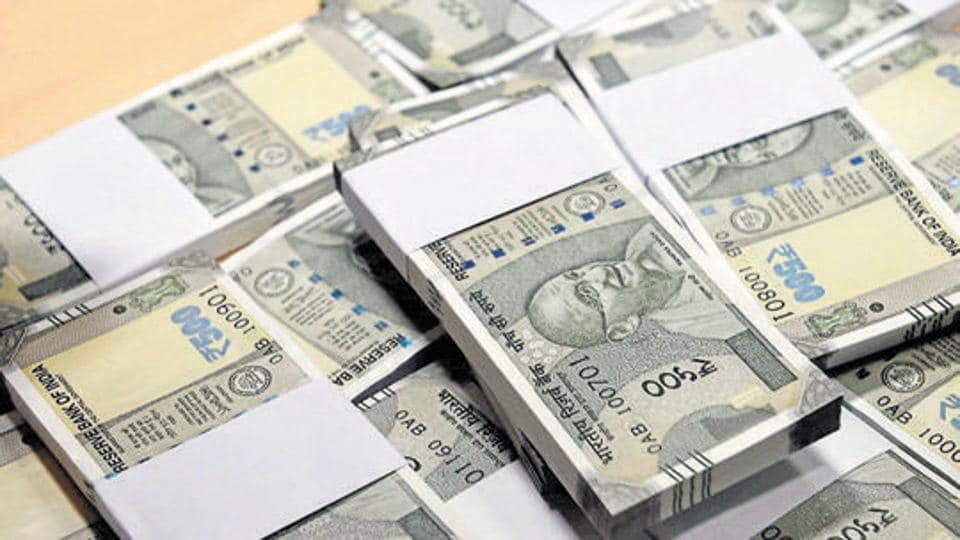 A State  Bank of India report says the remonetisation exercise is expected to be completed by the middle of April.