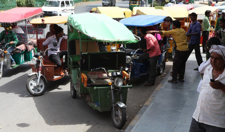 Experts said that even though battery-operated rickshaws are encouraged for their zero emission properties and as a last-mile connectivity option, the traffic snarls they are triggering is adding to the pollution as vehicles stuck in the jams need to decelerate, stop and accelerate more frequently.