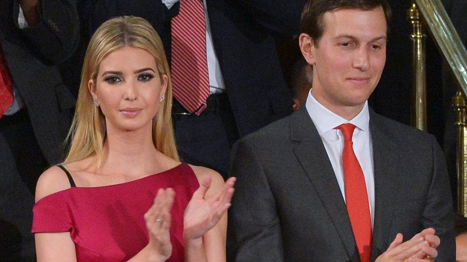Donald Trump,Ivanka Trump,Jared Kushner