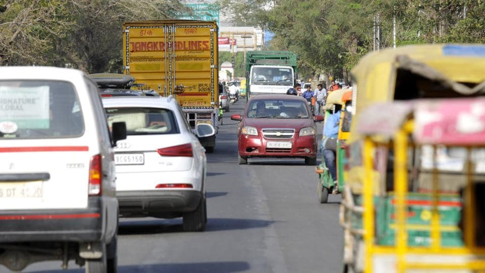 Wrong-lane driving often results in road rage incidents. The worst-affected stretches are from Sector 71 to Sector 78 and near Noida City Centre, commuters said.