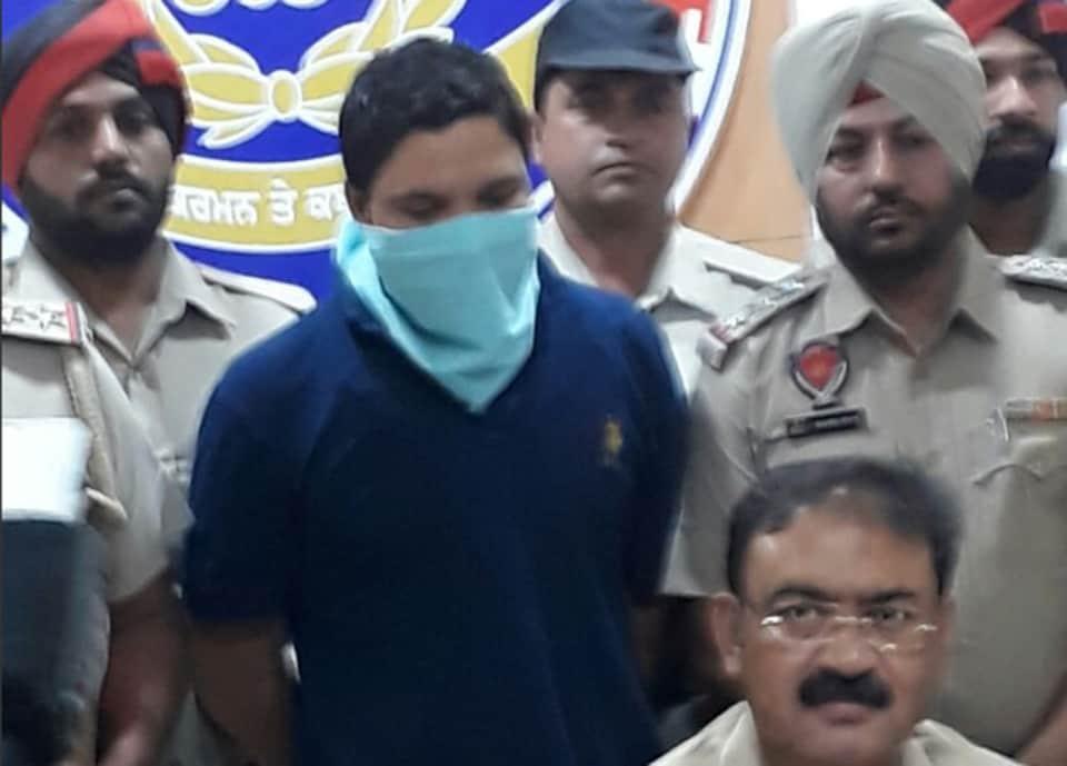 Gangster Vicky Gonder in police custody