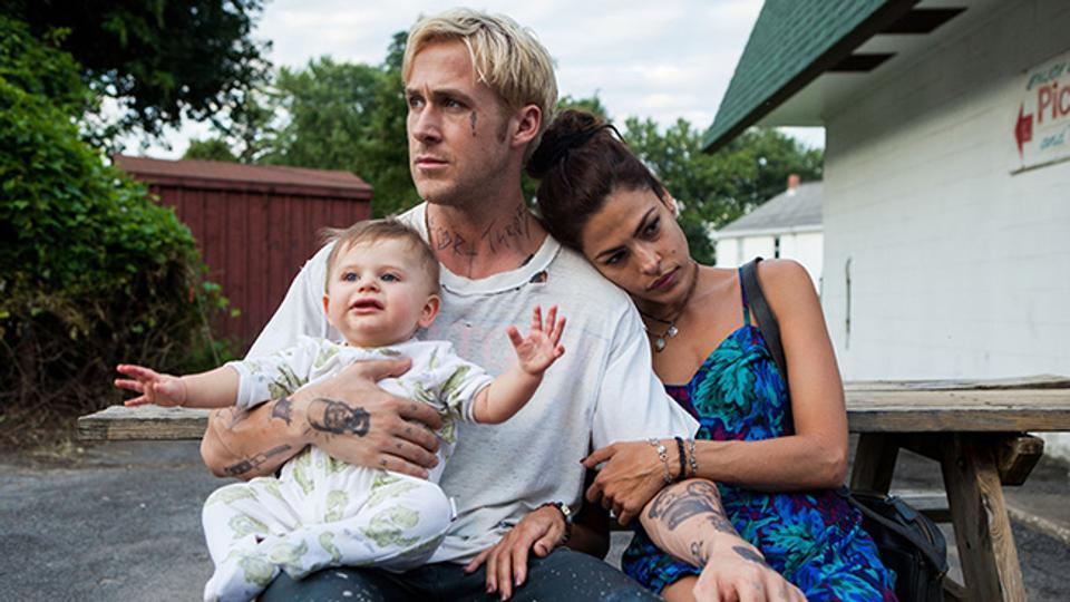 Ryan Gosling and Eva Mendes in a still from The Place Beyond the Pines.