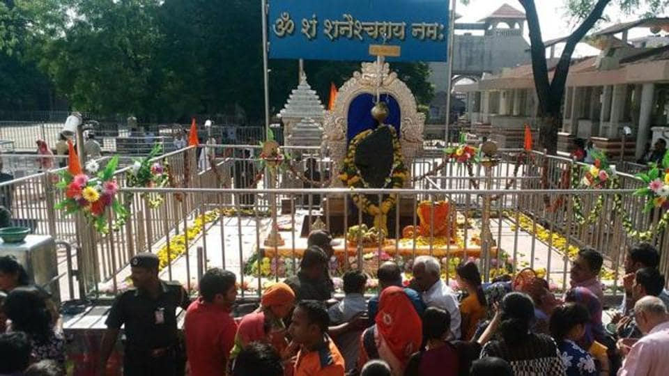 Women entered the sanctum sanctorum of the Shani Shingnapur temple and offer prayers in a move that broke all gender scripted.