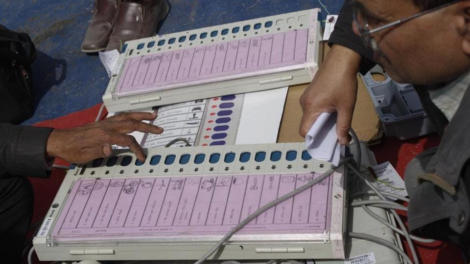 The party claimed that the alleged EVM malfunctioning incident in Madhya Pradesh's Bhind district made it clear that the EVMs were not tamper-proof.