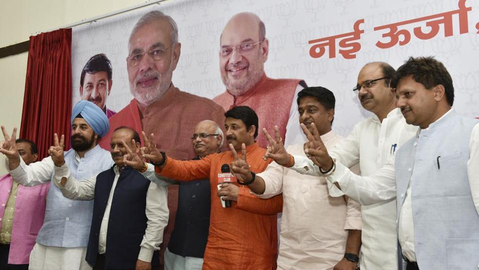 The Bharatiya Janata Party on Sunday released its first list of 160 candidates for the Delhi municipal elections that will be held on April 23. The party has given five wards to its ally Shiromani Akali Dal (SAD) and one seat to Lok Janshakti Party (LJP).