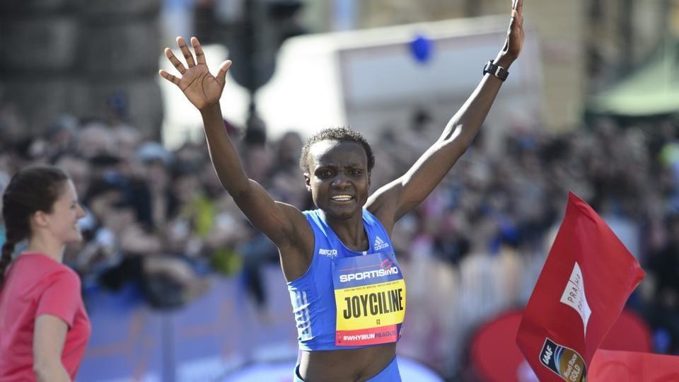 Joyciline Jepkosgei,Prague Half Marathon,half marathon