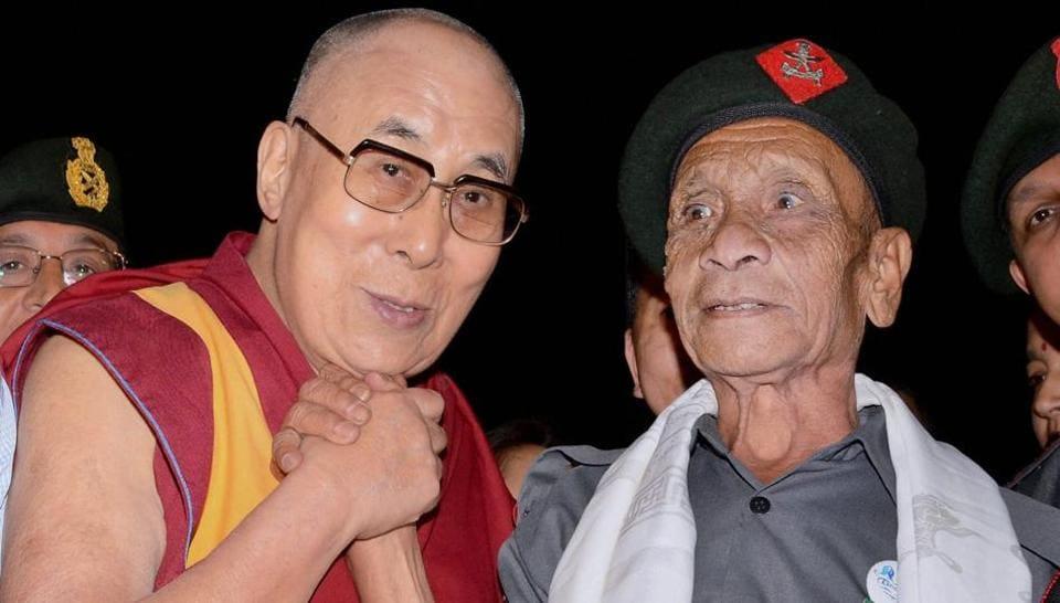 Dalai Lama,Assam Rifles jawan,Naren Chandra Das
