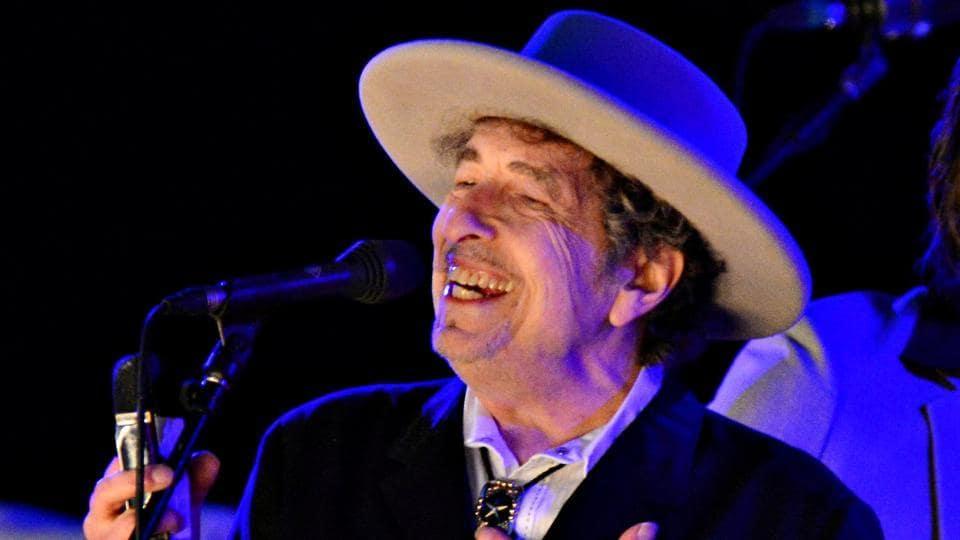 American singer/songwriter Bob Dylan.